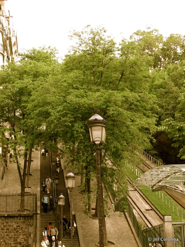 steps to Montmartre Paris