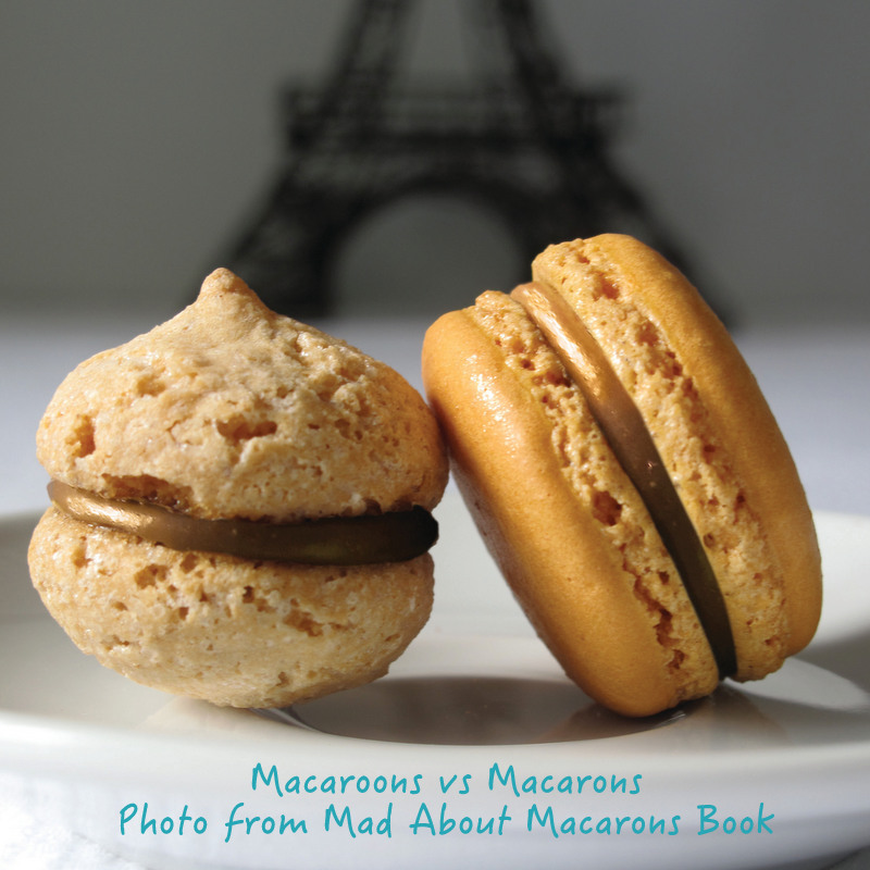 macarons vs macaroons Jill Colonna