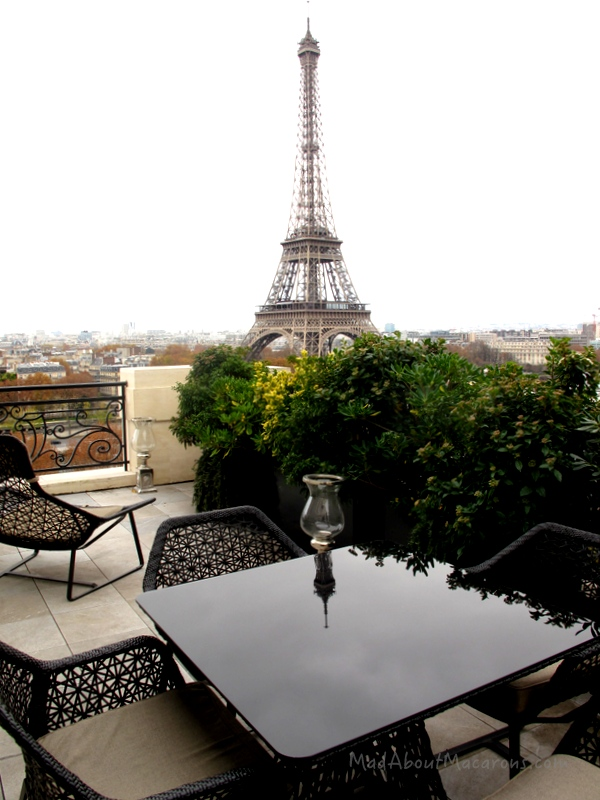 Balcony of the Chaillot Suite, Shangri-La Palace Hotel Paris