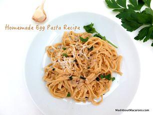 egg pasta recipe Alsatian noodles