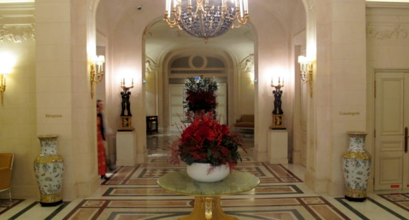 Lobby of the Shangri-La Paris