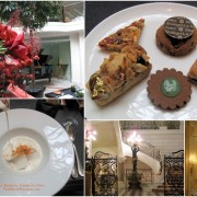 Lunch vegan afternoon teatime Shangri-La Palace Paris