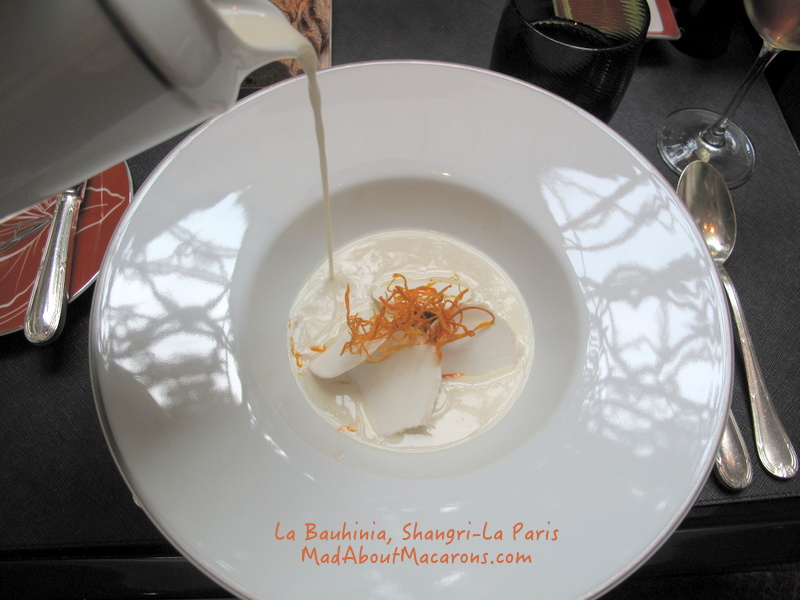 Malaysian chicken coconut lemongrass soup Shangri-La Paris