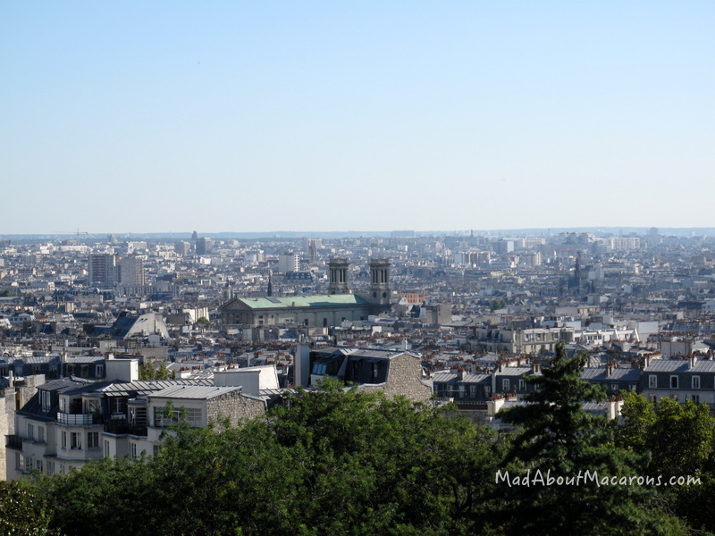 Paris view from Montmartre by Jill Colonna