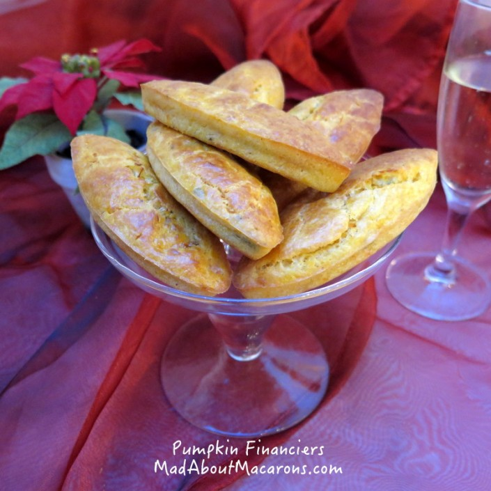 pumpkin sage and parmesan financiers recipe