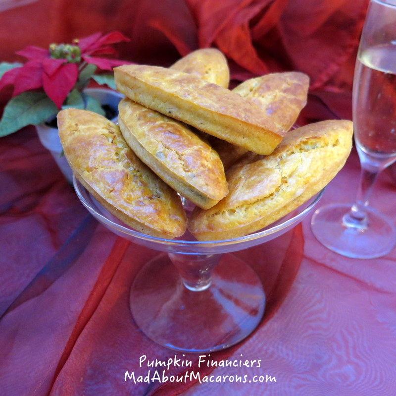 pumpkin parmesan financiers recipe