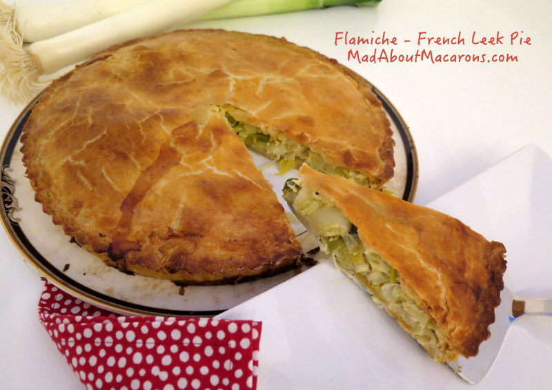 Flamiche or French Leek Pie