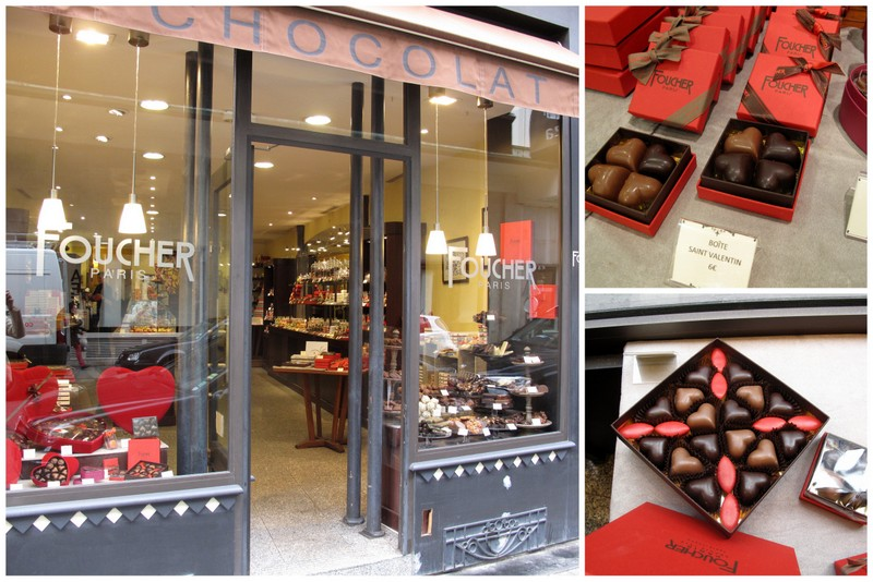 Foucher chocolaterie Paris St Valentine