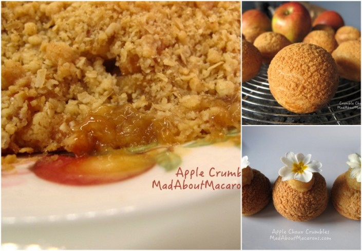 French Apple Crumble