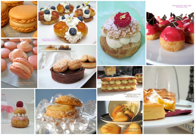 Teaser of French recipes in Teatime in Paris