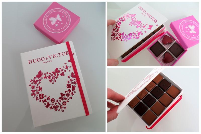 Valentine Chocolates from Hugo & Victor, Paris