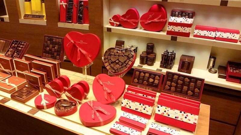 La Maison du Chocolat Paris St Valentines