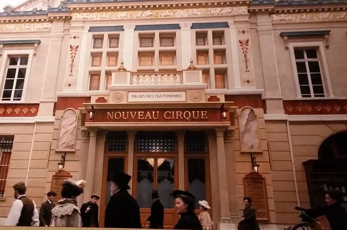 Nouveau Cirque rue saint honore paris 19th century