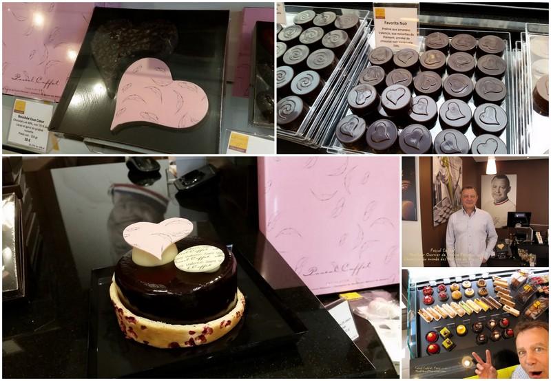 Pascal Caffet Paris, chocolates and pastries