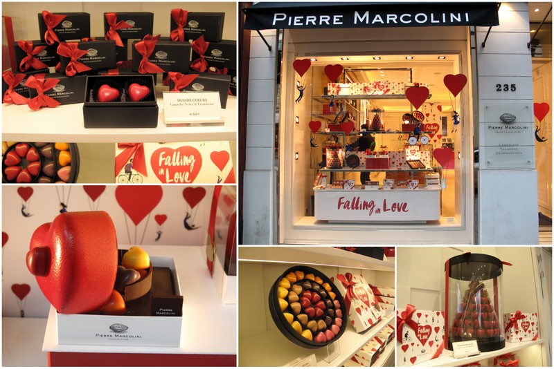 Pierre Marcolini Valentines Chocolates Paris