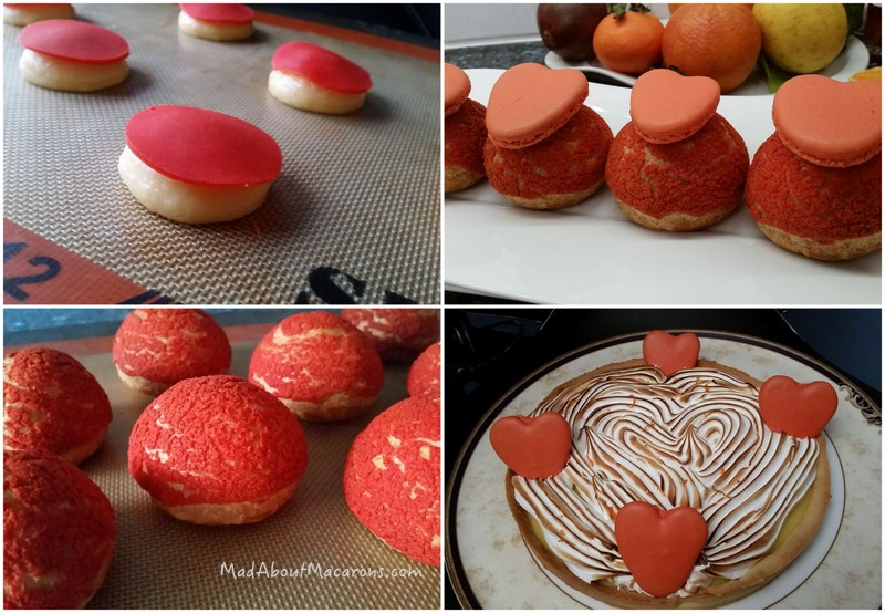 orange citrus French patisserie ideas