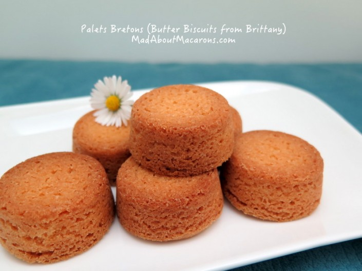 Thick French Butter Cookies or Biscuits from Brittany - Palets Bretons