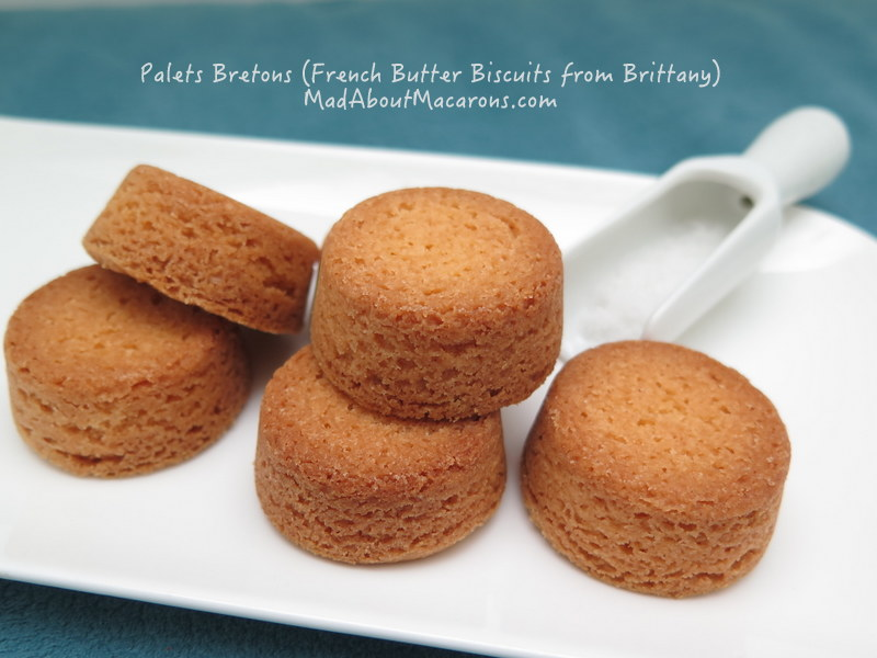 Palets Bretons Recipe French Butter Cookies from Brittany