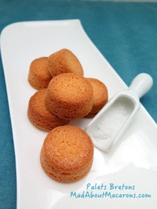 Recipe Palets Bretons thick French butter cookies