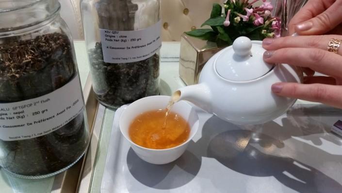 Teatime at Les Bulles de Paris hotel