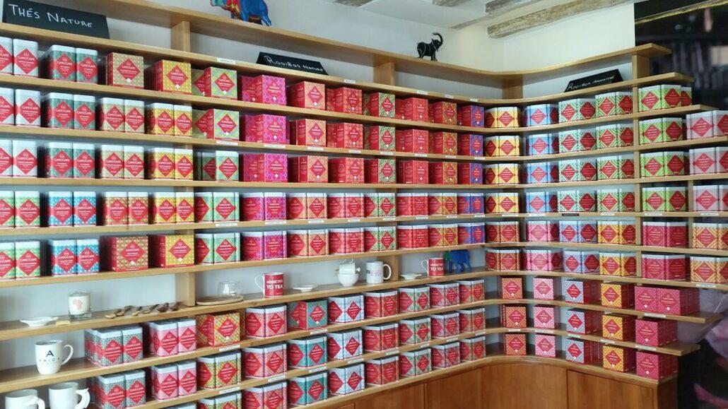 African tea collection Cape and Cape Paris