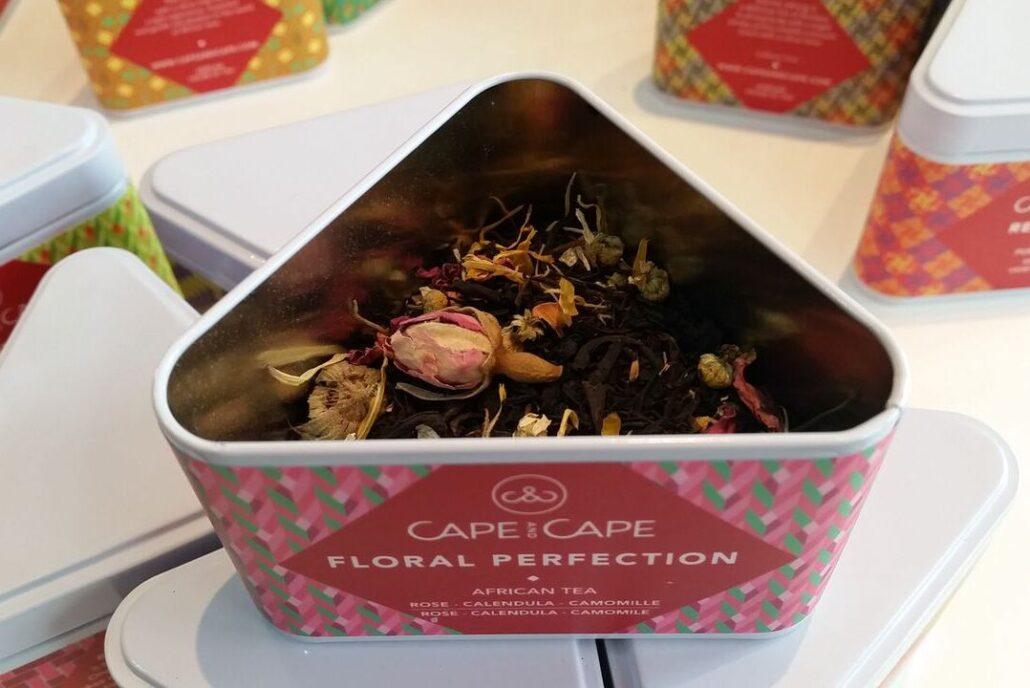 floral rooibos Cape tea