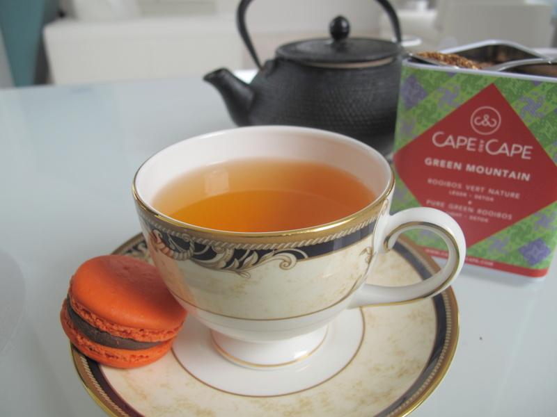 Green Rooibos tea African Tea Cape and Cape Paris