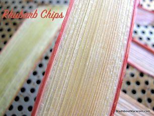 rhubarb chips