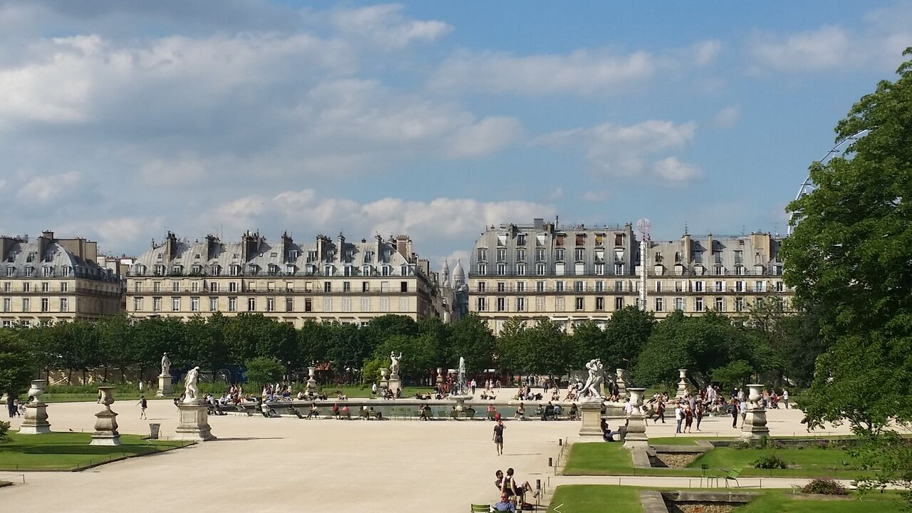 Paris Tuileries Gardens