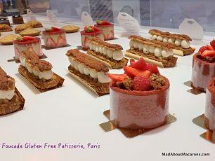 Foucade Paris Gluten Free pastries