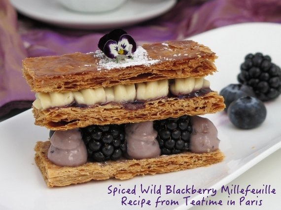 Millefeuille recipe from Teatime in Paris