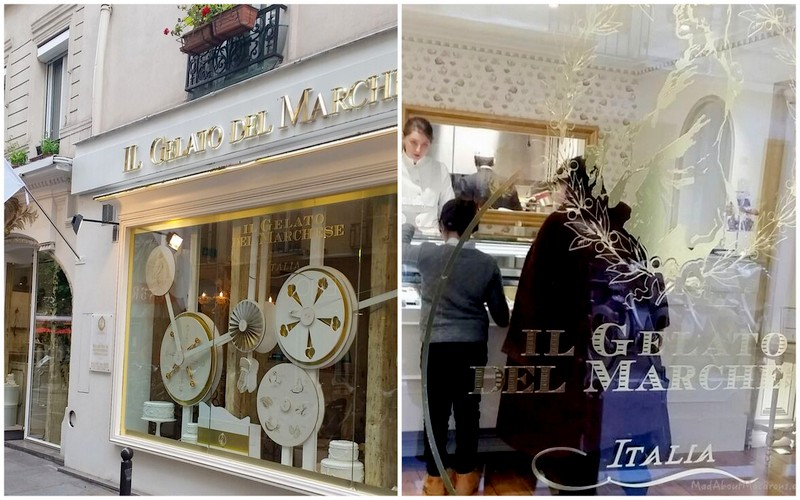 Il gelato del Marchese Italian luxury ice cream paris