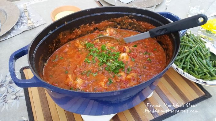 monkfish stew from Brittany