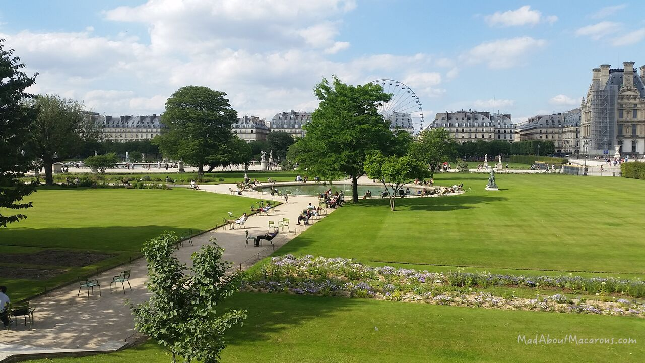 Paris tuileries gardens summer amusements and a new for Jardin tuileries