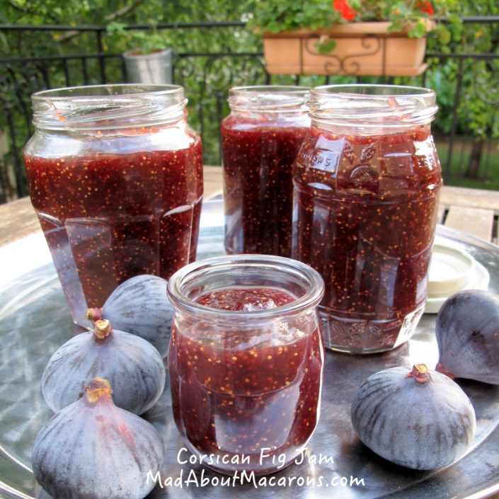 Corsican fig jam