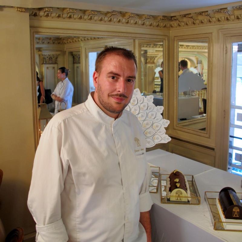 Florent Martinot pastry chef Angelina