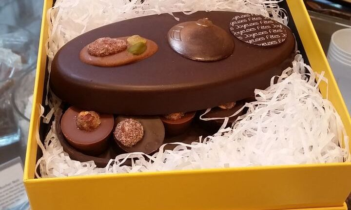 Pascal Caffet's new festive pastry collection - chocolate pralines
