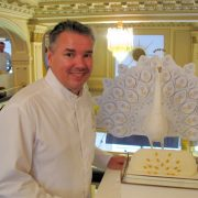 christophe Appert, Head Pastry Chef Angelina new yule log