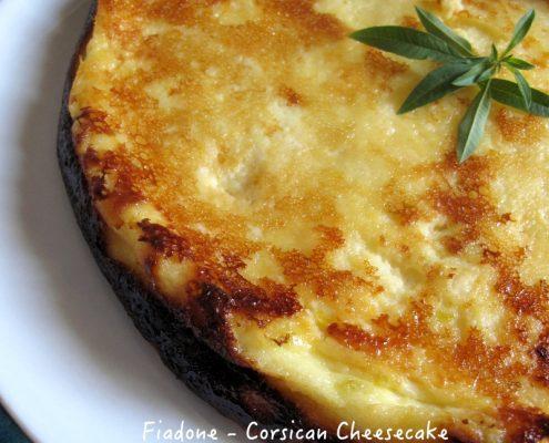 Fiadone Corsican Cheesecake