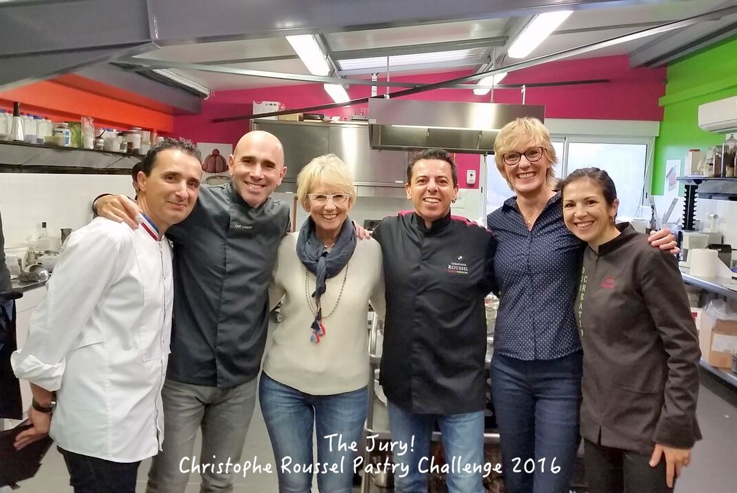 Jury for Christophe Roussel Pastry Competition La Baule