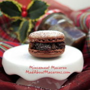 mincemeat macarons