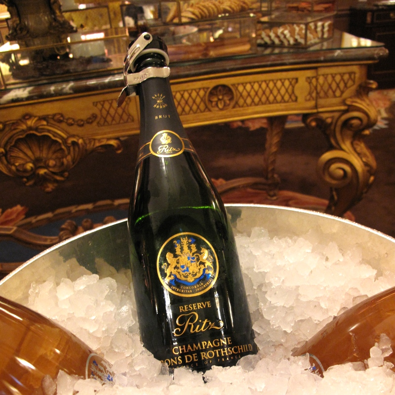 Ritz Paris Teatime with Champagne Rothschild
