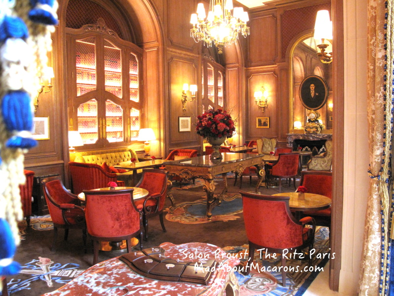 Ritz Paris Teatime new Salon Proust