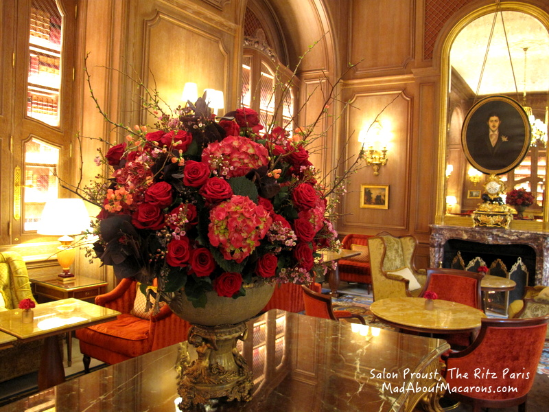 Ritz Paris Teatime Salon Proust