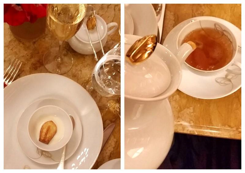 Ritz Paris Teatime Madeleines de Proust