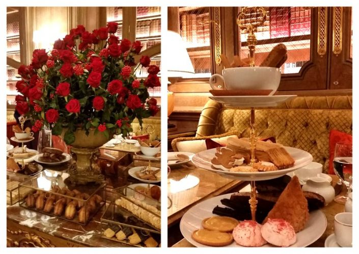 Teatime Ritz Paris Table