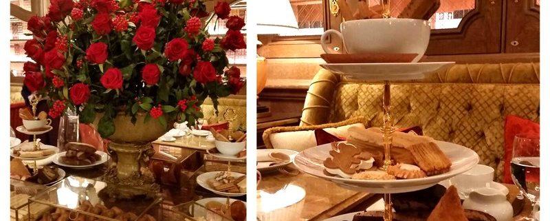 Teatime Ritz Paris Table