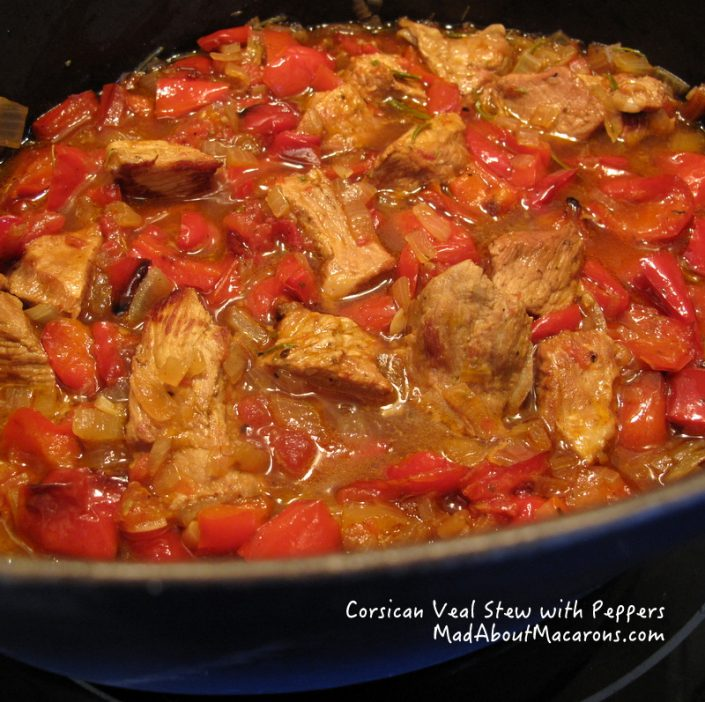 Corsican Veal Stew Peppers