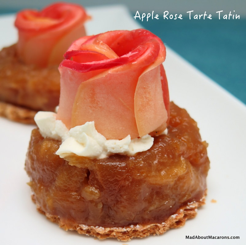 Apple Rose Tarte Tatins