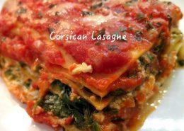 Corsican Brocciu Lasagne